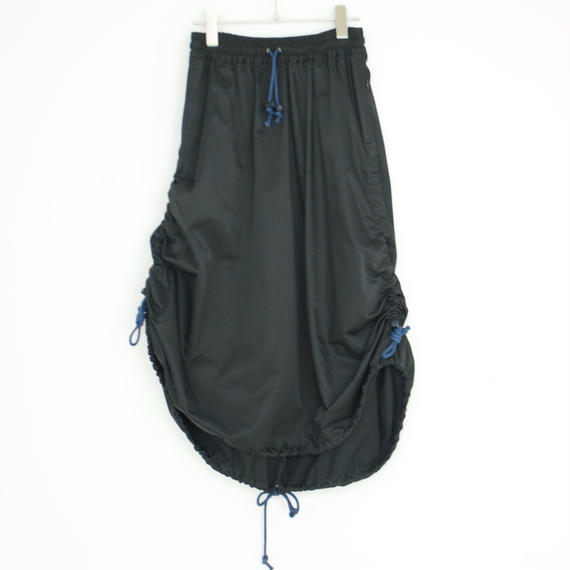 mimi by KOSHIRO EBATA/Drawstring A-Line Skirt