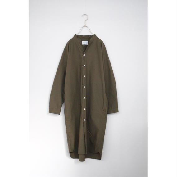 manual alphabet/typewriter dolman one-piece(khaki)