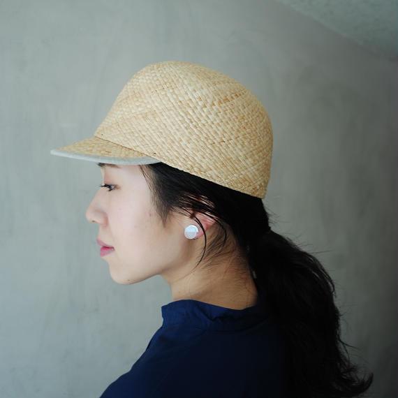 mitake/Raffia cap(beige)