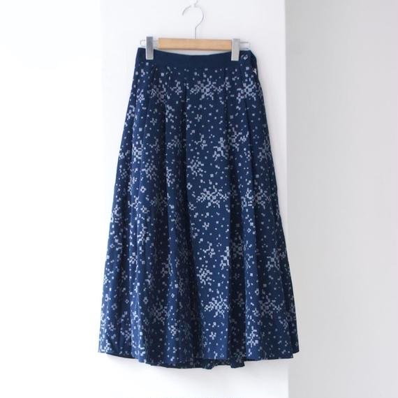 "rikolekt/""grass""  tuck skirt"