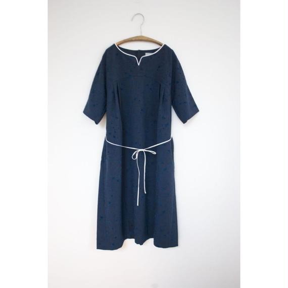 "rikolekt /""memoryscapes"" DRESS(navy)"