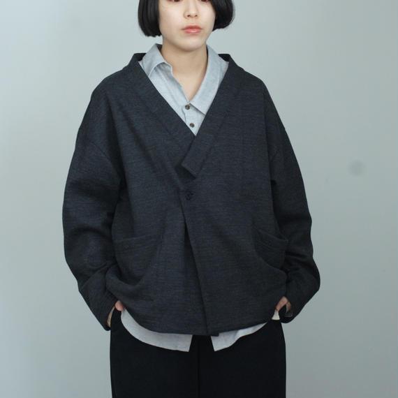 ANITYA/cardigan jacket(charcoal)