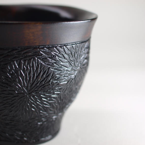 フリーカップ〈菊紋様〉