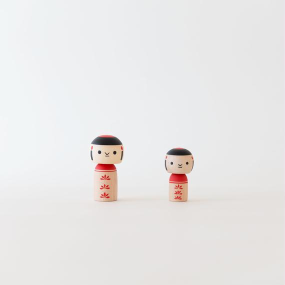 飾りコマ/こけし 小