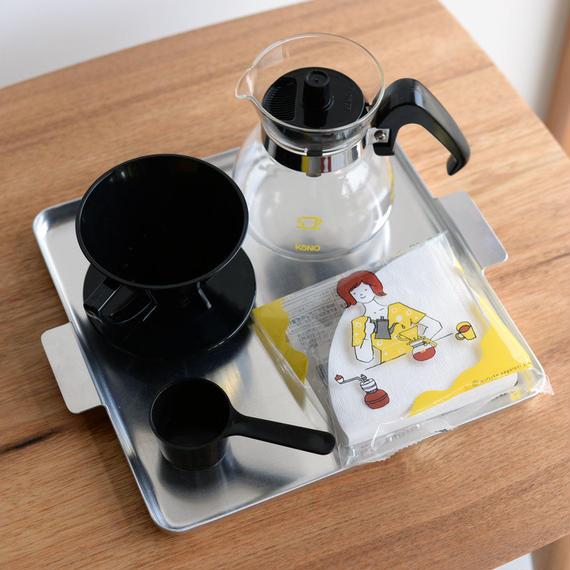 KONO|Coffee Dripper Set [BK] - 2人用