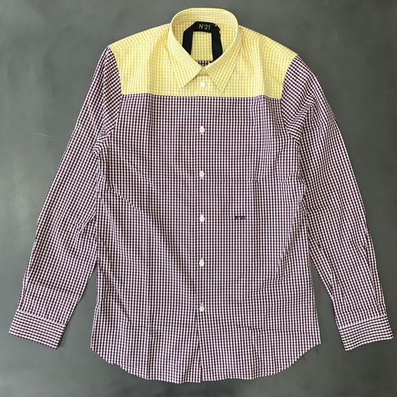 N°21 チェックシャツ 2018SS