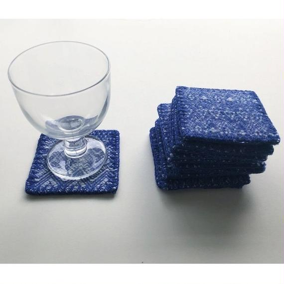 -NEW- Ethnic coaster  [7×7cm]