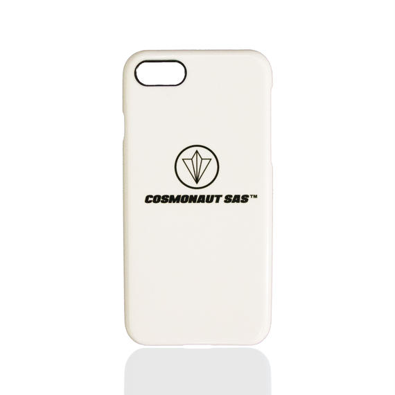 CIRCLE LOGO iPhone CASE WHITE