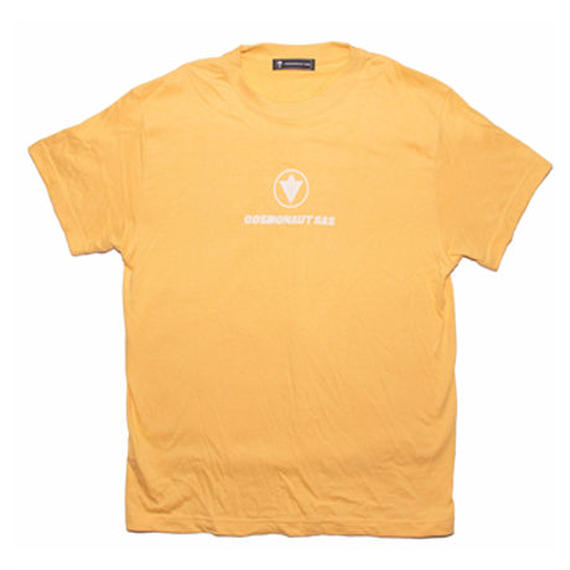 CIRCLE LOGO UNISEX TEE LIGHT YELLOW