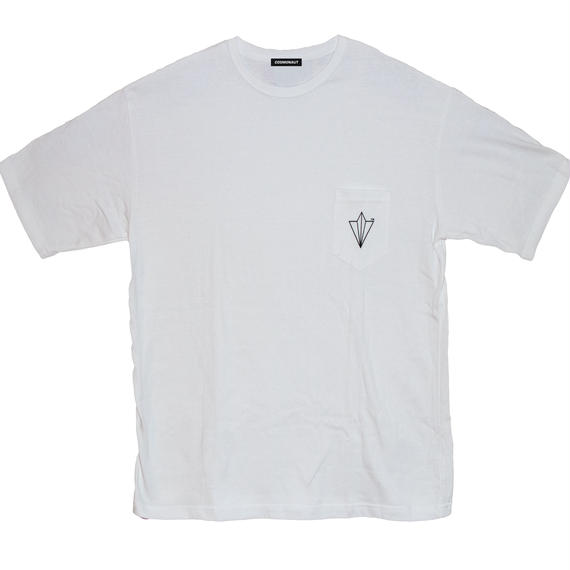 PAPER PLANE BIG SILHOUETTE POCKET  TEE