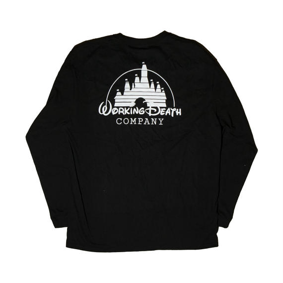 WORKING DEATH UNISEX LONG SLEEVE TEE BLACK