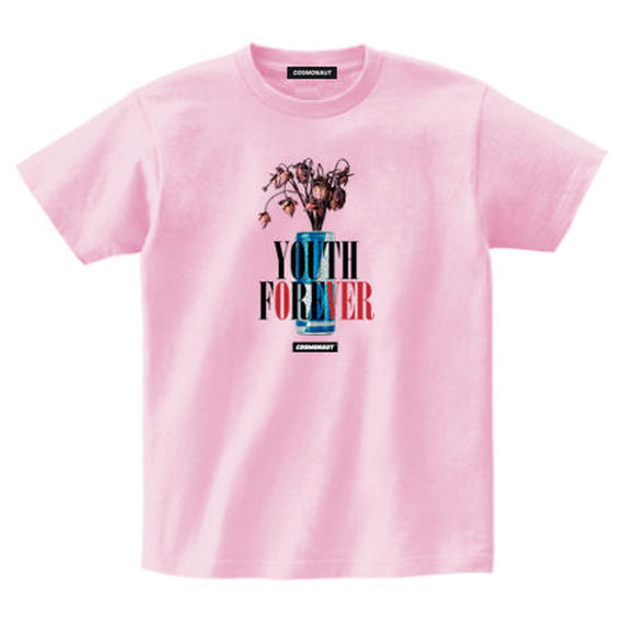 YOUTH FOREVER WITH THE ENERGY DRINK TEE PINK