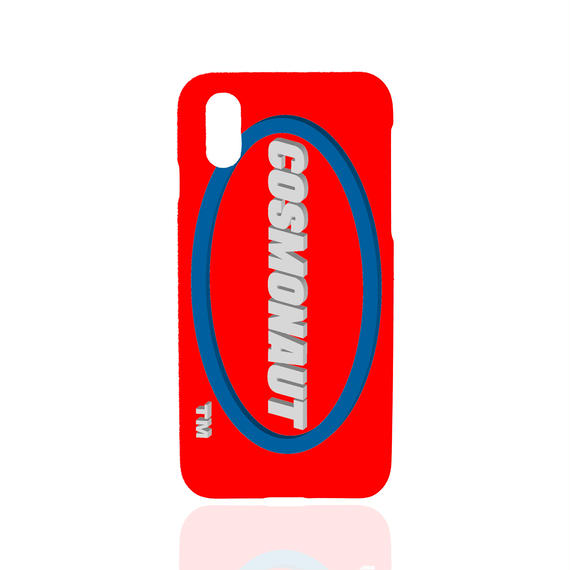 3D LOGO iPhone Case RED
