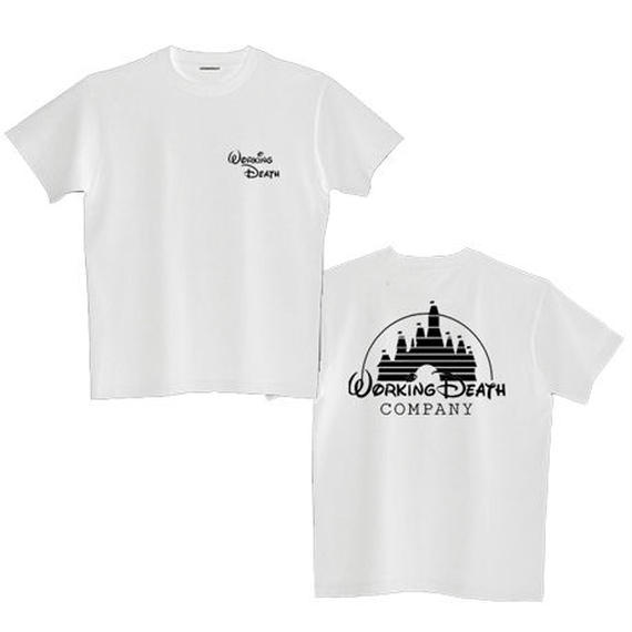 WORKING DEATH TEE WHITE