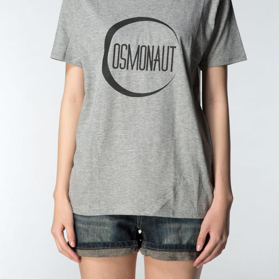 PAPER MOON GIRLS TEE GRAY