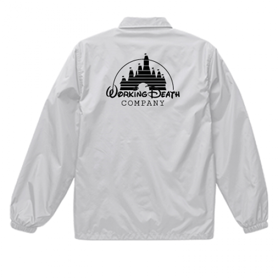 WORKING DEATH COACH JACKET WHITE