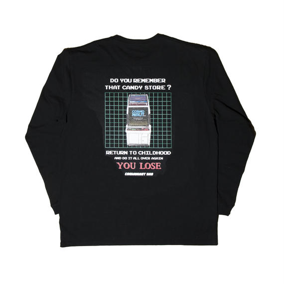 ARCADE  UNISEX LONG SLEEVE TEE