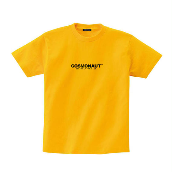 STRAYCAT FAN CLUB TEE YELLOW