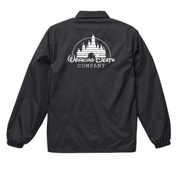 WORKING DEATH COACH JACKET BLACK