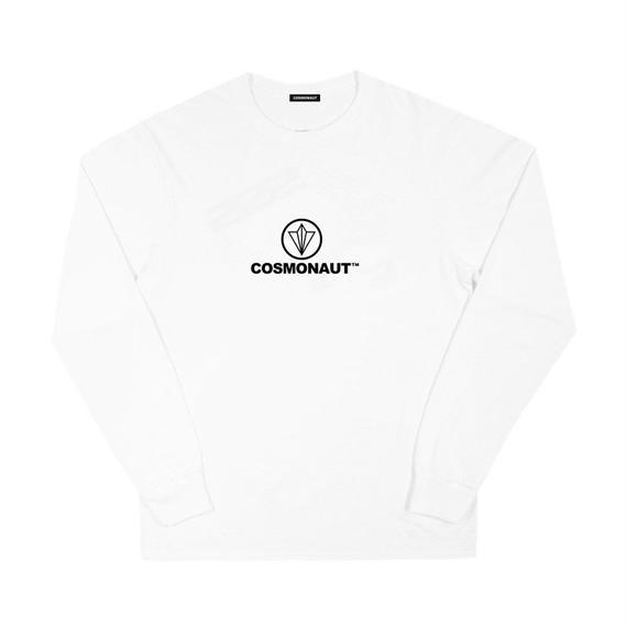 CIRCLE LOGO L/S TEE WHITE