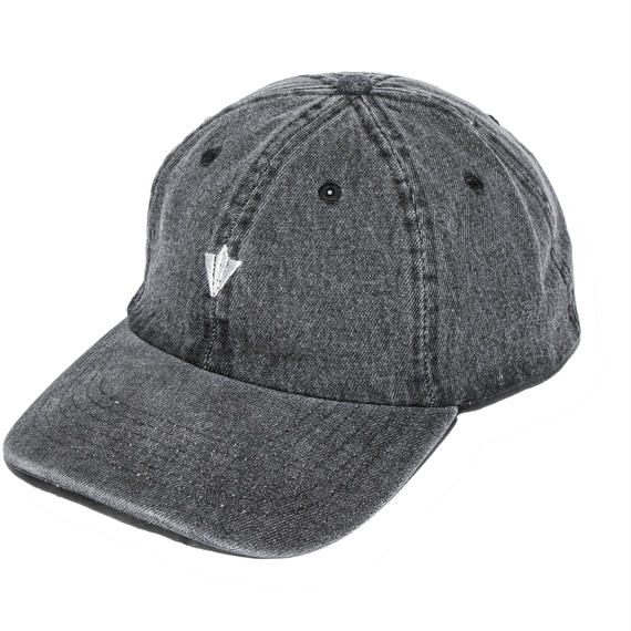 PAPER PLANES LOW CAP BLACK DENIM