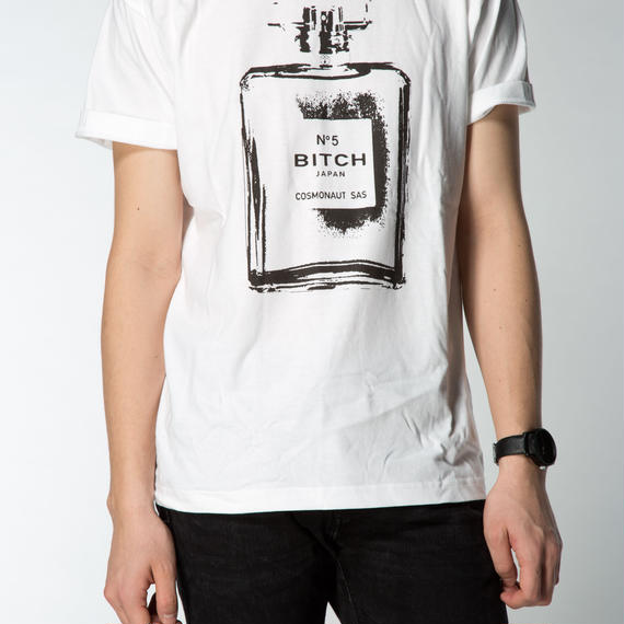 SMELL THE LIKE BITCH MENS TEE WHITE