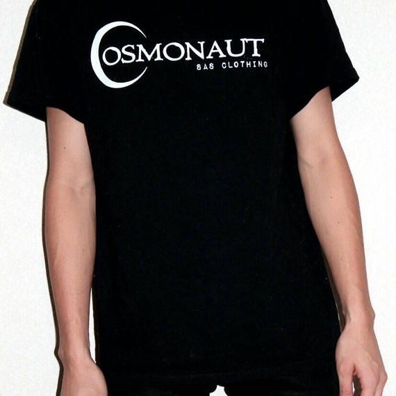 PAPER MOON LOGO MENS TEE BLACK
