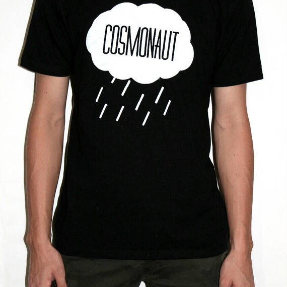 RAIN DROP TEE MENS BLACK