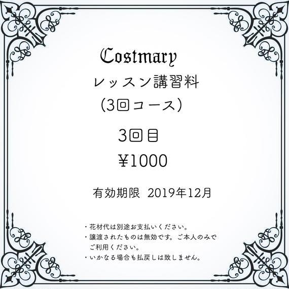 //セット販売//レッスン講習料(3回コース)/3回目