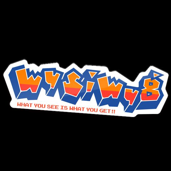 【WYSIWYG】ステッカー
