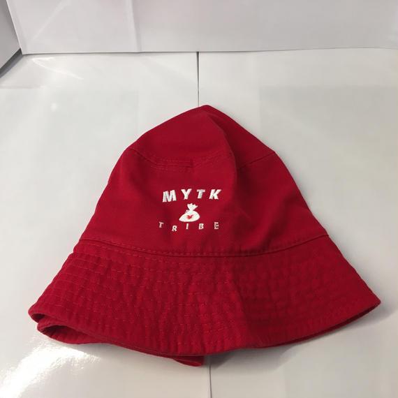 MYTK バケットハット(レッド)