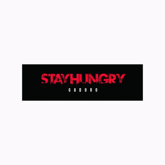 「STAY HUNGRY」 GADOROプリントタオル