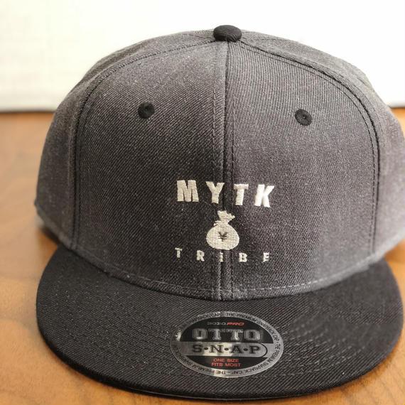 MYTK ヘザーウールブレンド ベースボールCAP(ヘザーブラック)