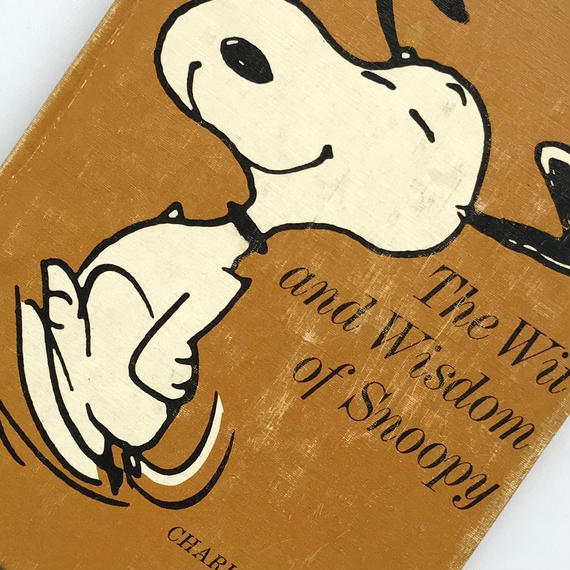 Title/ The Wit and Wisdom of Snoopy  Author/ Charles M.Schulz