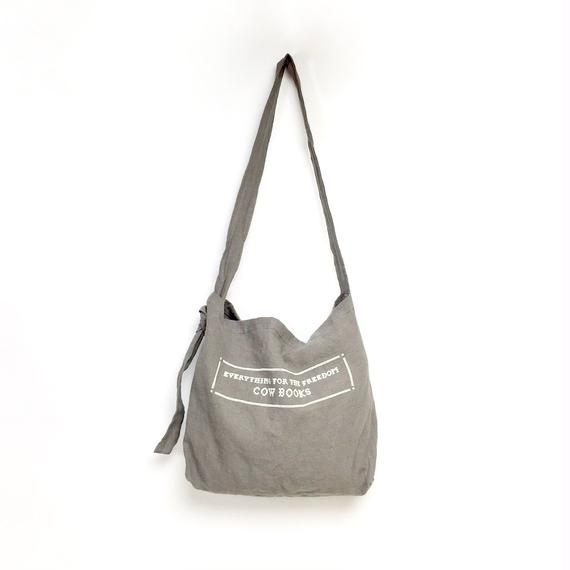 Linen Shoulder Tote  (Stitch Logo)