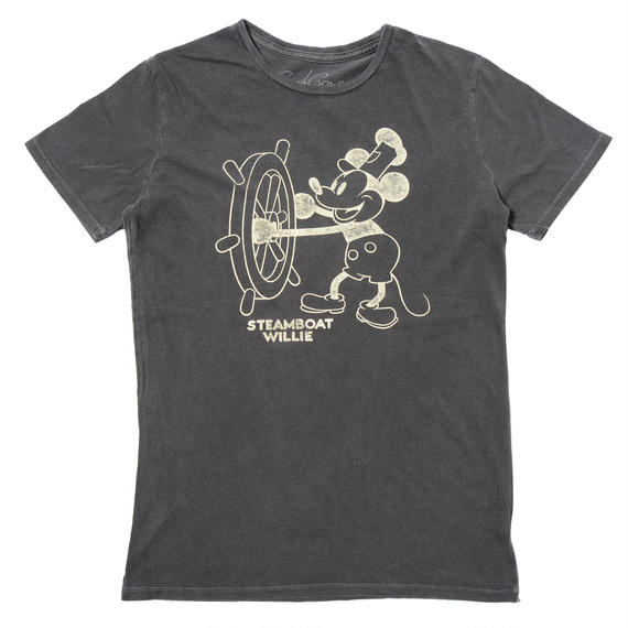 STEAMBOAT WILLIE TEE (BLACK)No.098