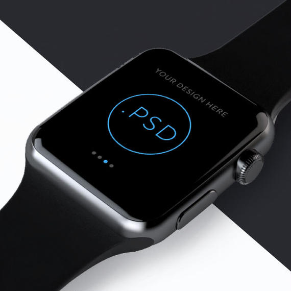 Apple Watch PSD MockUp 2