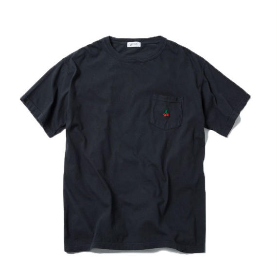 CHERRY BOY POCKET TSHIRT (BLACK)【CC18SS-030】