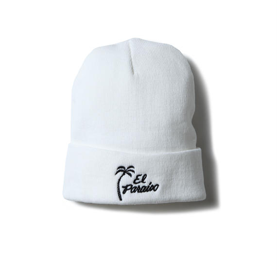 EL PARAISO CLASSIC BEANIE (WHITE) :  STIKSTOK  × MAGIC STICK【16AW-CULT-005】