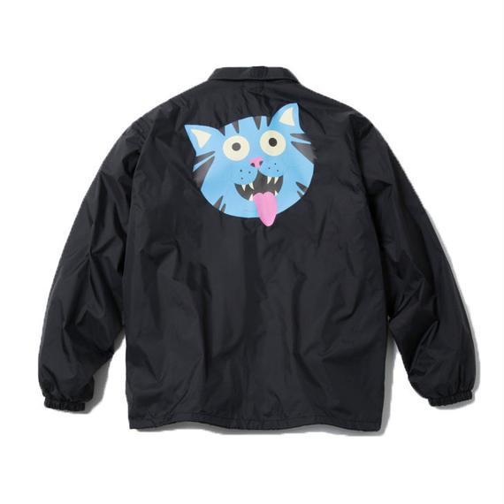FRITZ THA CAT COACH JACKET (BLACK) : GANGSTER DOODLES【CC18SS-002】