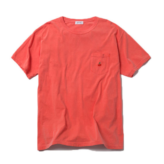 CHERRY BOY POCKET TSHIRT (ORANGE)【CC18SS-030】