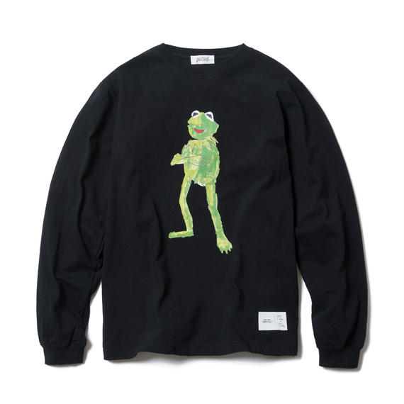 FROG LONG SLEEVE TEE : YUNG LENOX (BLACK)【CC17AW-015】
