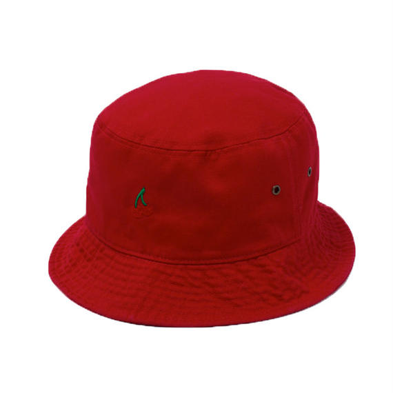 CHERRY BOY BUCKET HAT  (RED)【CC18SS-033】