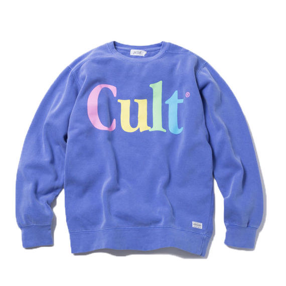 CULT CREWNECK (PURPLE)【CC18SS-013】