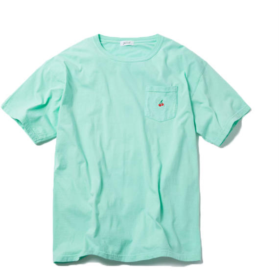 CHERRY BOY POCKET TSHIRT (GREEN)【CC18SS-030】