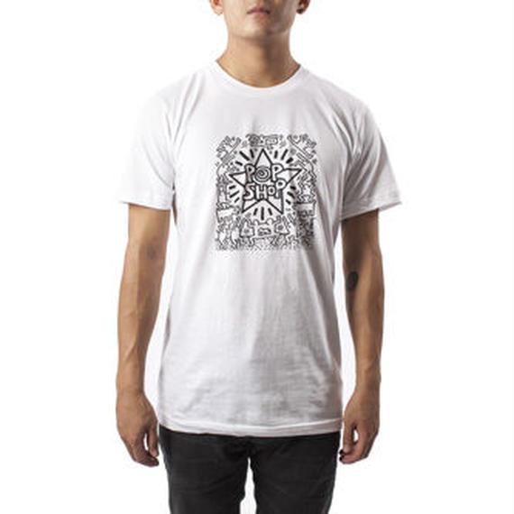 POPSHOP T-shirt POPSHOP【KH-021】