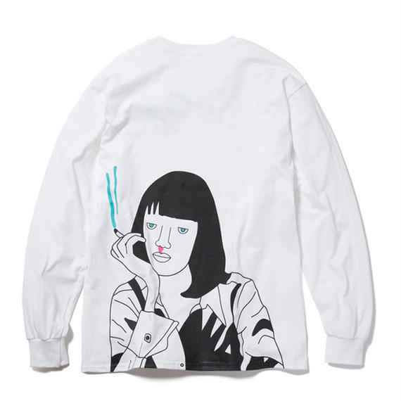 GANGSTER DOODLES MIA WALLECE LONG SLEEVE TSHIRT【CCGD17006】