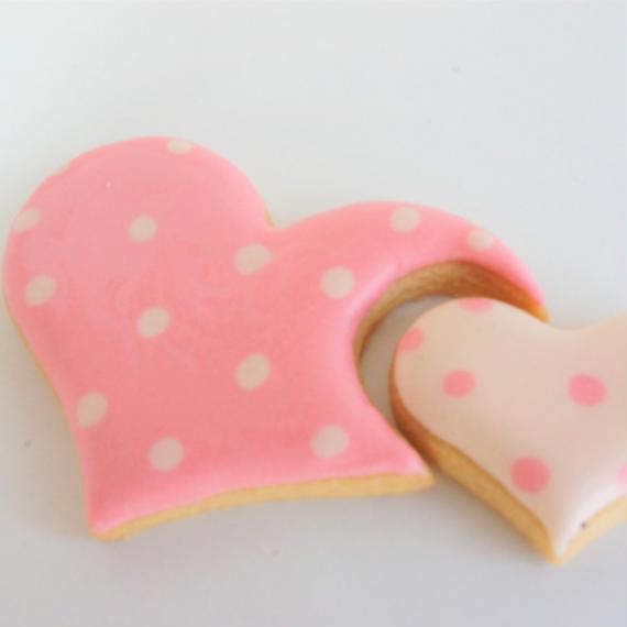 ハートクッキー
