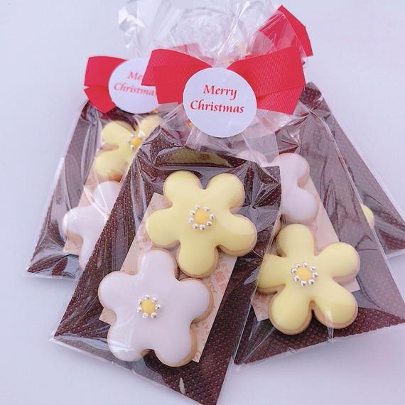 CUTE お花クッキー(2枚)