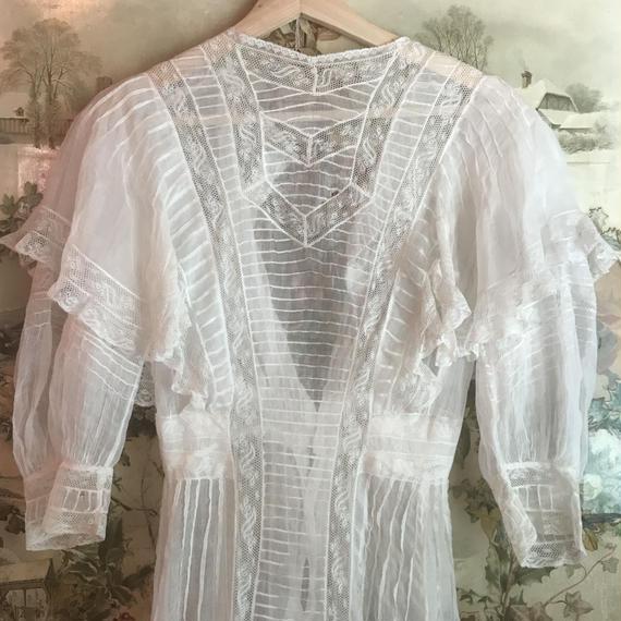 Victorian Wedding Dress (damaged)